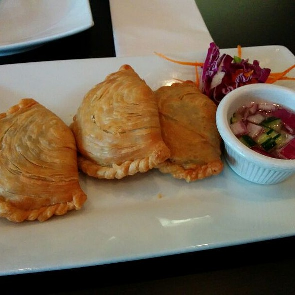 Curry Puffs @ Pam Real Thai