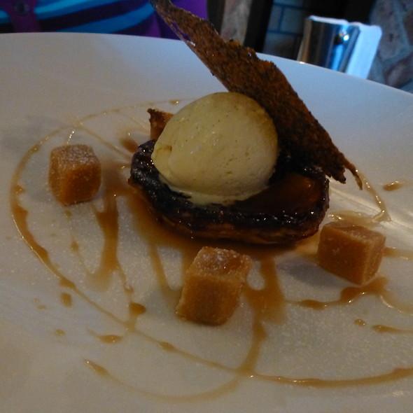 Apple - Tart Tatin, Vanilla Bean ice cream, salt butter fudge, whiskey ...