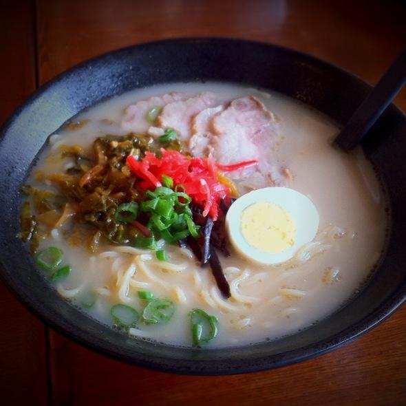 Tonkotsu BBQ Ramen @ Ajisen