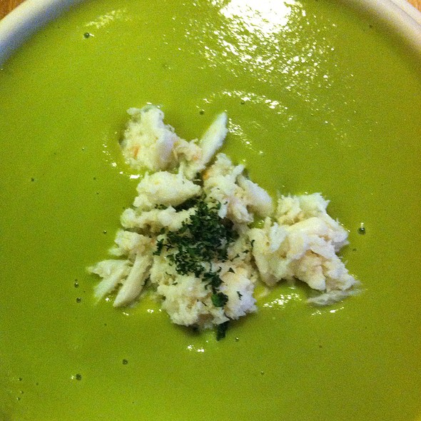 Spring Pea Soup with Crab - Isabel, Philadelphia, PA