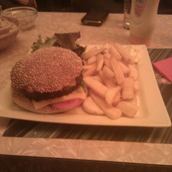 Burgers @ bar les couleurs