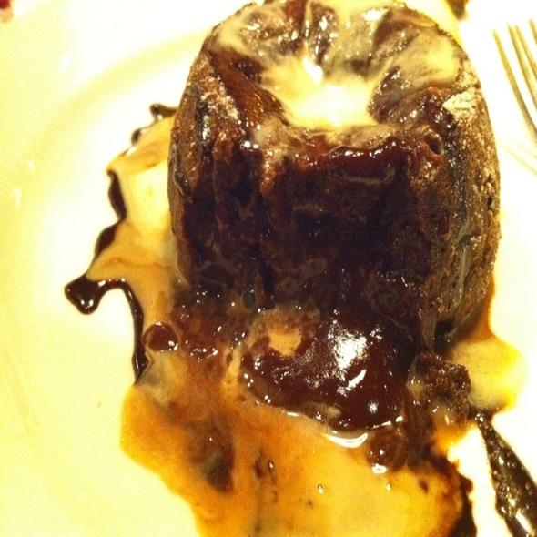 Ultimate Warm Chocolate Cake @ The Pressroom