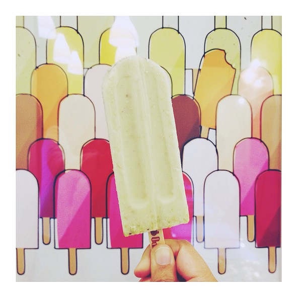 Pistachio Rosewater Pop @ The Hyppo