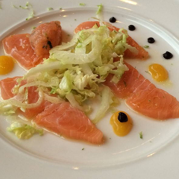 Crudo De Salmon - Frasca Food and Wine, Boulder, CO