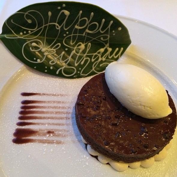 Chocolate Cake - Frasca Food and Wine, Boulder, CO