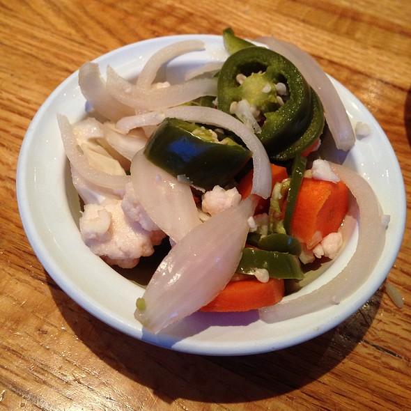 Pickled Vegetables @ Balompie Cafe #3