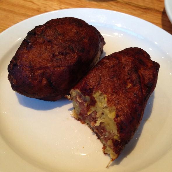 Empanadas Frijol @ Balompie Cafe #3