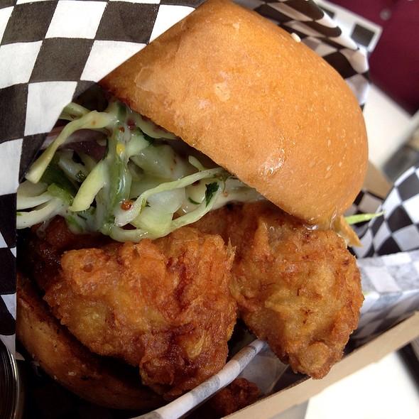 Chicken Sandwich @ Coffee Commissary
