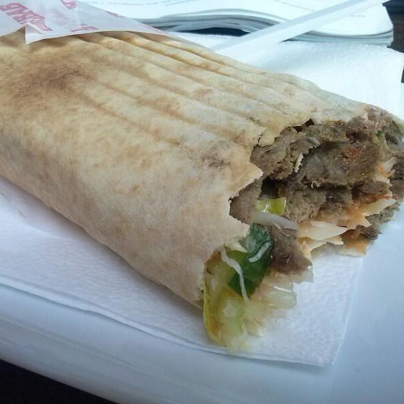 Pdwojny Kebab Z Baraniny Kanapka