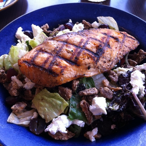 Pure Luck Salad With Salmon