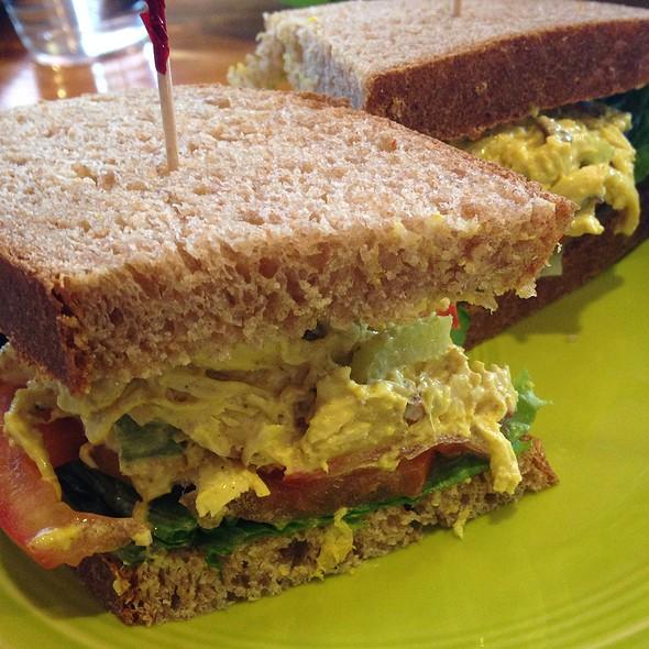 Curry Chicken Sandwich @ Cafe Brioso