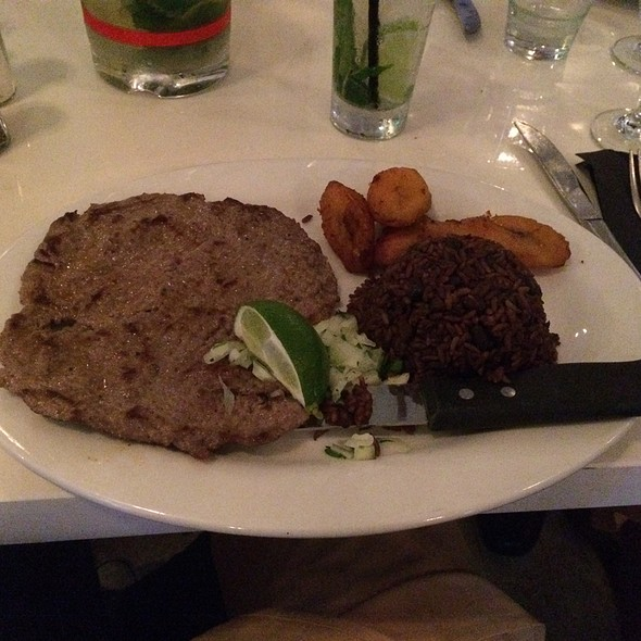 Bistec De Palomilia - Larios on the Beach, Miami Beach, FL