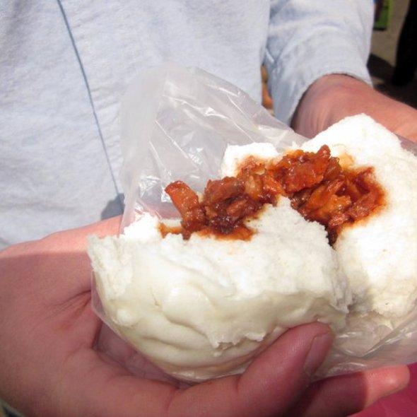 Steamed BBQ Pork Buns @ Good Mong Kok Bakery 好旺角飽餅店
