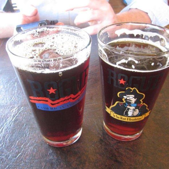 Hazelnut Ale & Mogul Madness @ Rogue Ales Public House