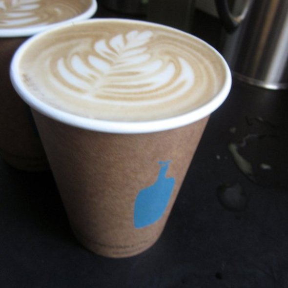 Latte x 2 @ Blue Bottle Coffee