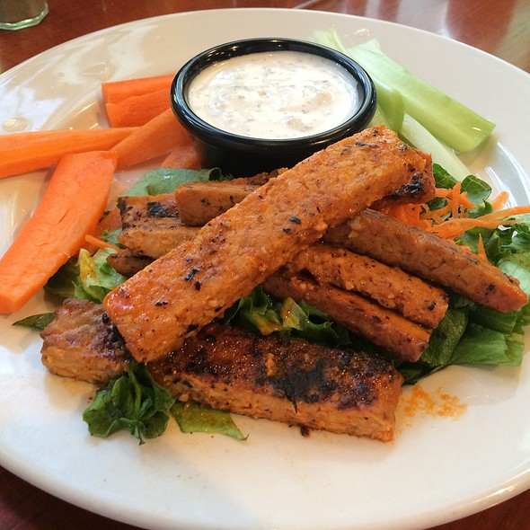 Buffalo Tempeh Strips
