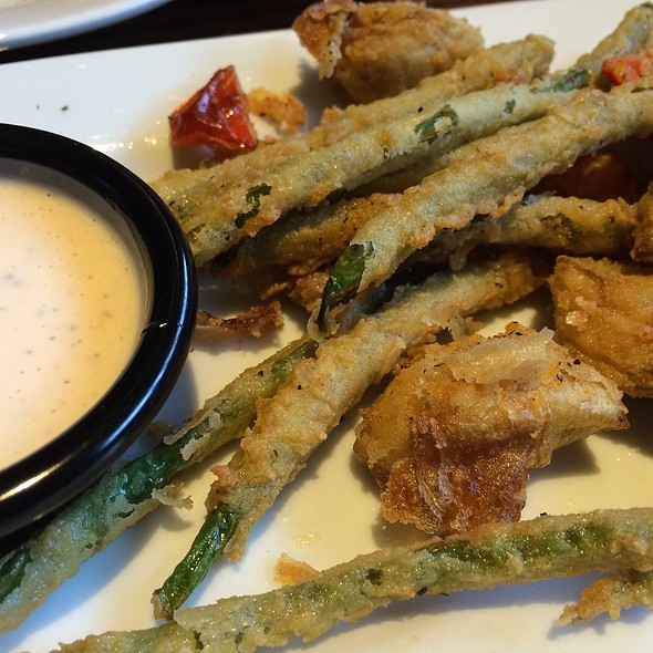 Fried Artichokes Green Beans And Red Peppers @ Longhorn Steakhouse