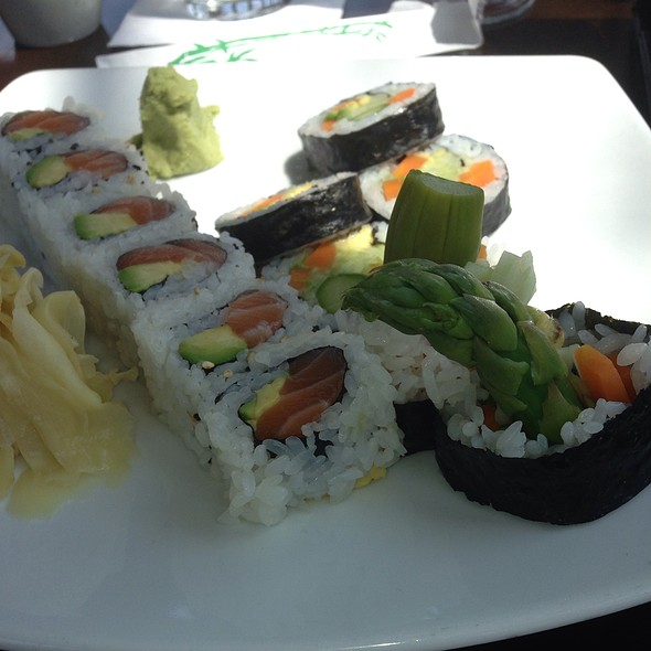 Salmon Roll - Teak Restaurant, Red Bank, NJ