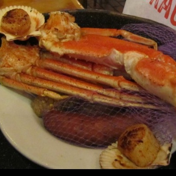 Snow Crab Steampot @ Joes Crab Shack