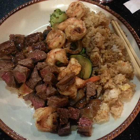 Fajitas For Two (steak, Shrimp, and Chicken) - Fujiyama Japanese Steak House & Bar - Olympia, Olympia, WA