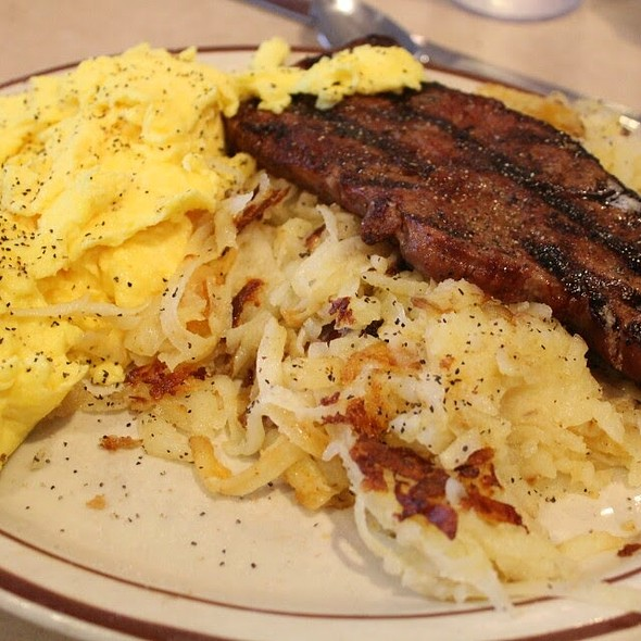 Steak & Eggs @ The Pancake Place
