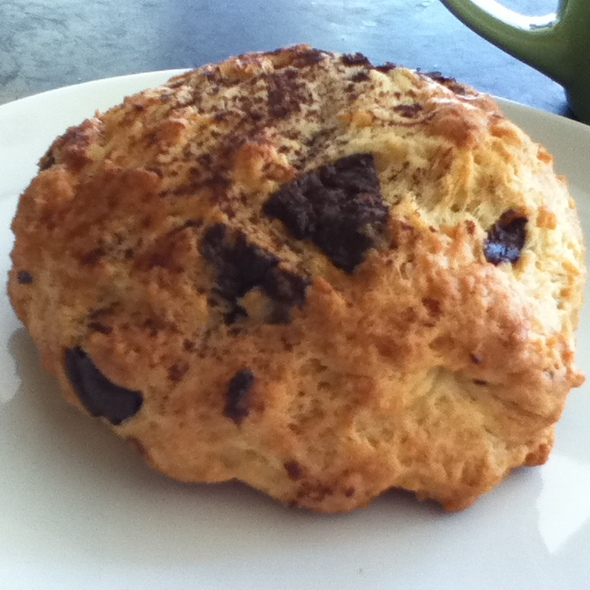 Chocolate Chip Scone @ Mariposa Bakery