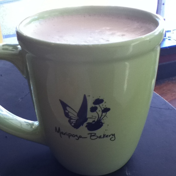 Hot Chocolate @ Mariposa Bakery