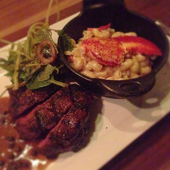 Tenderloin With Lobster Mac And Cheese - The Press Gang, Halifax, NS