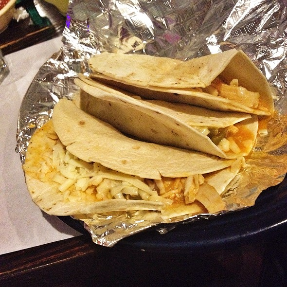 Pollo Soft Taco @ Cancun Mexican Restaurant