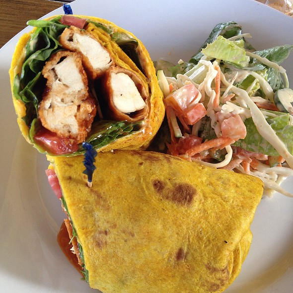 Buffalo Chicken Wrap @ Wild Mango's