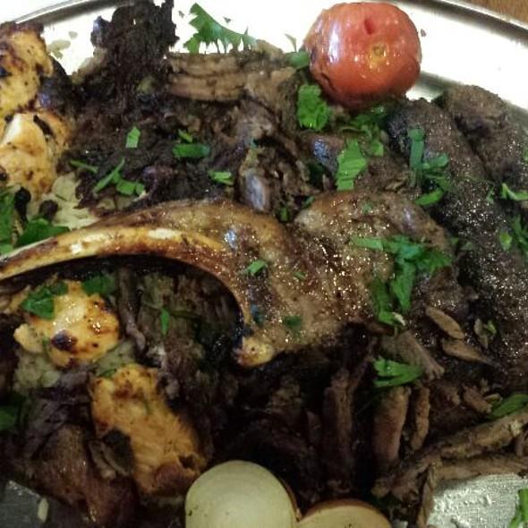 Albasha Platter @ Albasha Restaurant