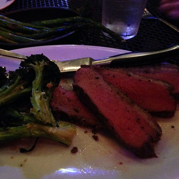 Hickory Smoked Sirloin @ Texas Land & Cuttle Steak House