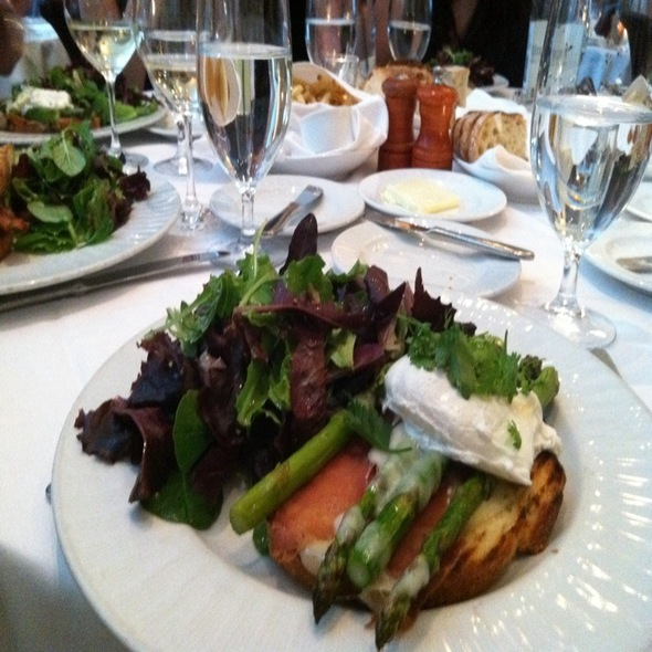 Asparagus And Proscuitto Grilled Cheese Sandwich @ Campanile Restaurant