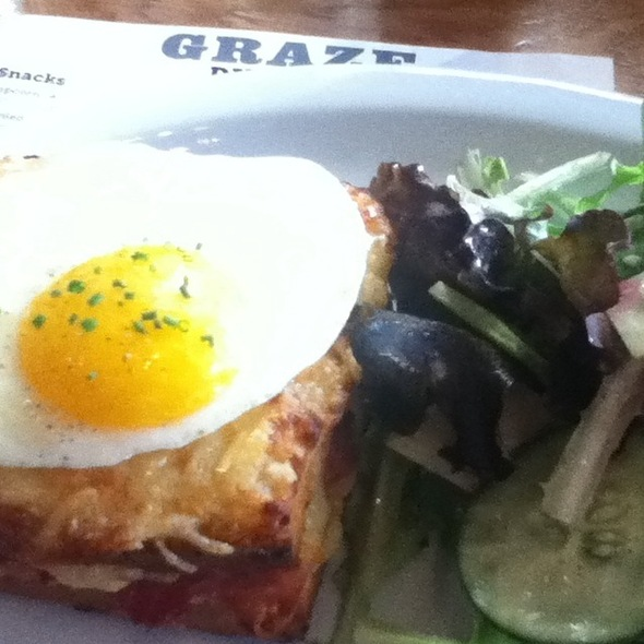 Croque Madame @ Graze