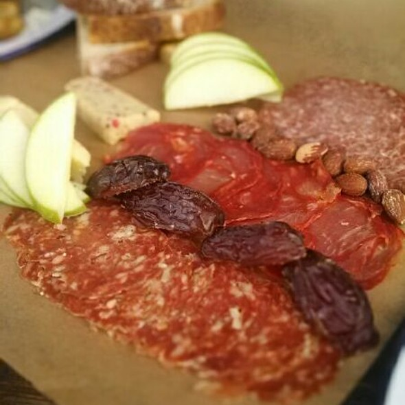 Meat And Cheese Board @ Craft & Commerce