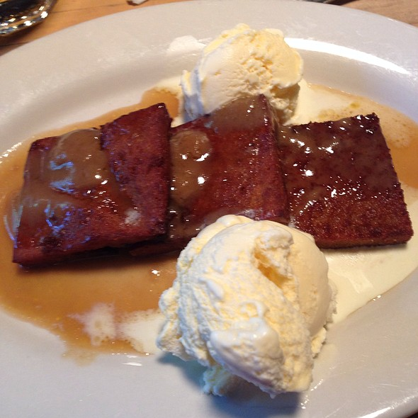 Fried Bread Pudding