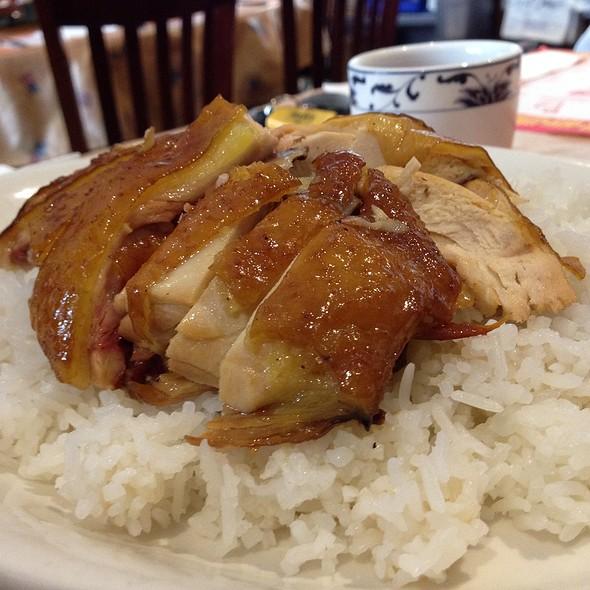 Roasted Chicken Rice @ Full Key