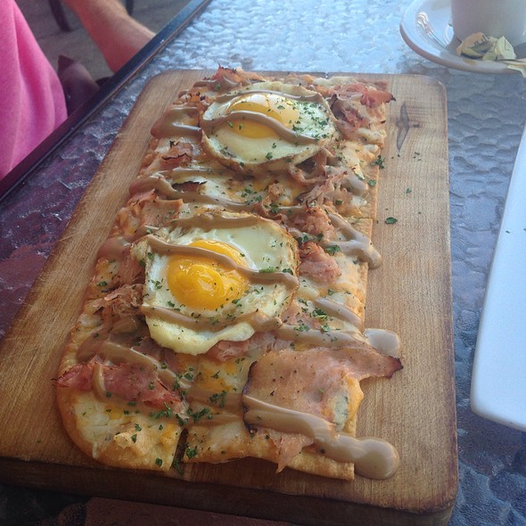 Breakfast Flatbread - Libby's Cafe & Bar, Sarasota, FL