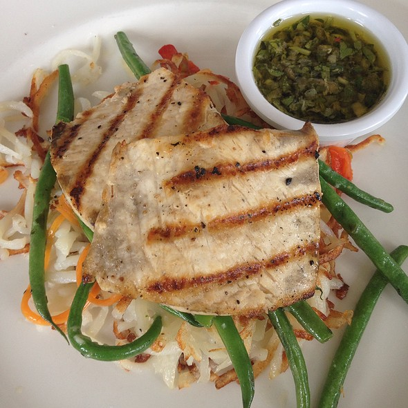 Grilled Wahoo Fish - The Grand Marlin of Pensacola Beach, Pensacola, FL
