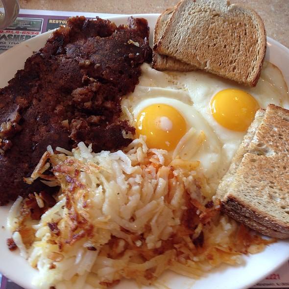 Corned Beef Hash with Eggs