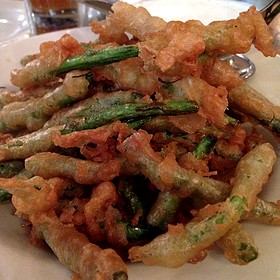 Beer Battered String Beans - The Smith - East Village, New York, NY