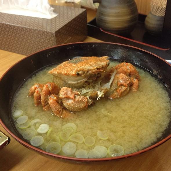 Crab Miso Soup 4Am Tsukiji @ Tukiji Itadori Bekkan