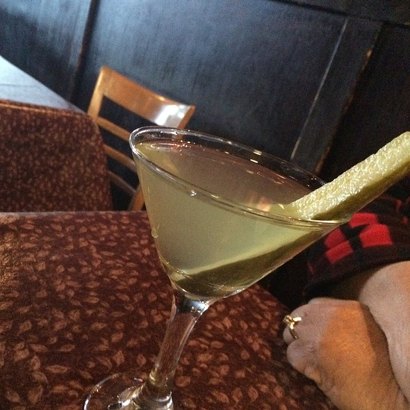 Cajun Martini @ Howes Bayou
