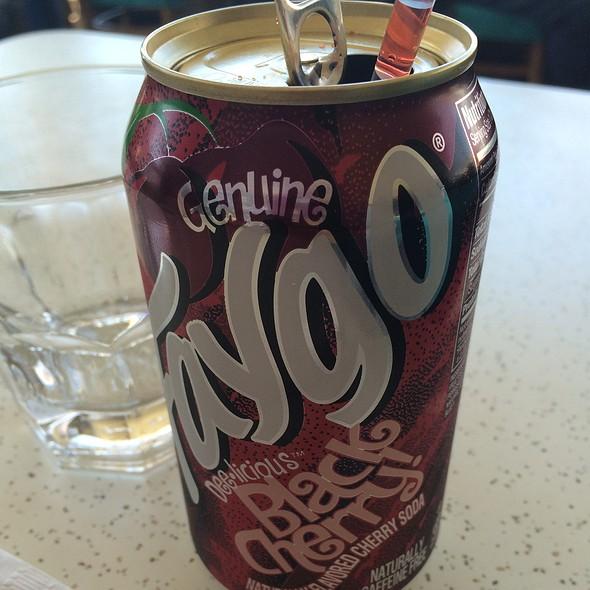 Black Cherry Faygo @ Mae's Restaurant Inc