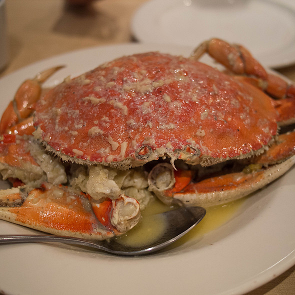 Roasted Dungeness Crab
