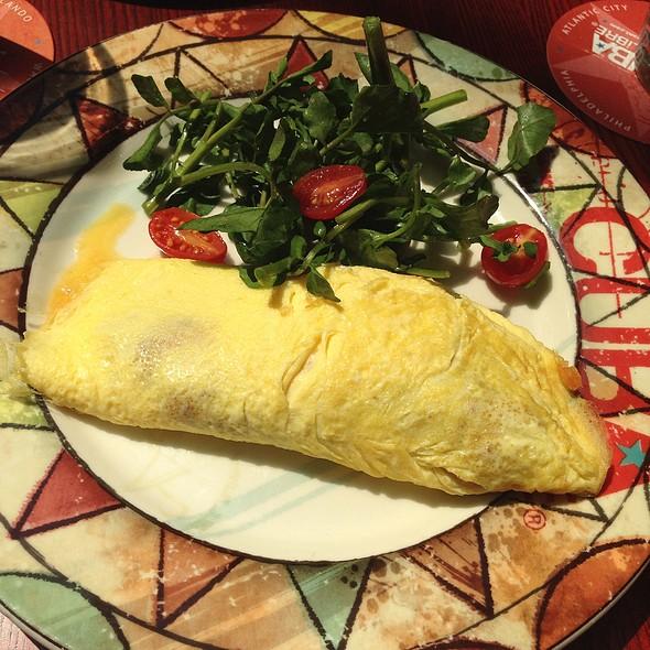 Chorizo Potato Omelet