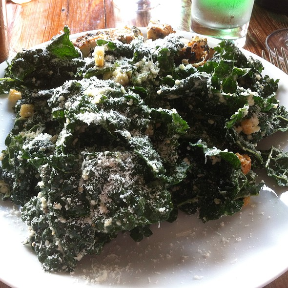Kale Salad With Grilled Chicken Breast @ Coltivare