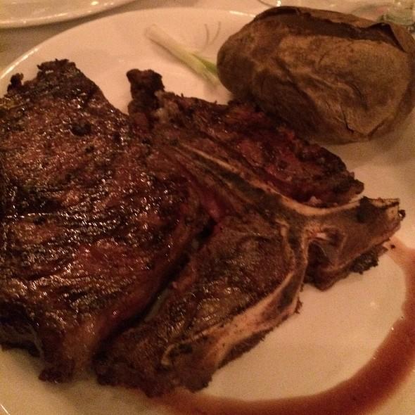 22Oz Porterhouse Steak - Hy's Steakhouse Encore, Vancouver, BC