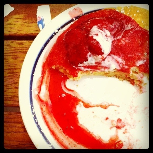 New York Cheesecake Pancake @ iHop Ciudadela