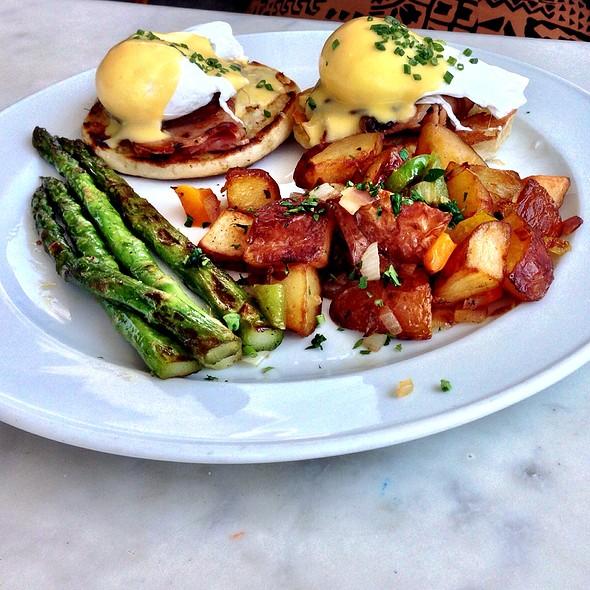 Poached Farm Eggs - Brasserie 19, Houston, TX